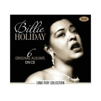 BILLIE HOLIDAY - LONG PLAY COLLECTION-6 ORIGINAL ALBUMS 3 CD JAZZ SWING NEW!
