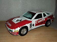 Porsche 924 turbo burago escala 1:24 1/24 maqueta coche 24 horas le mans canon