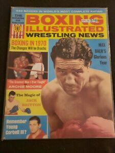 💥1️⃣9️⃣6️⃣4️⃣ Boxing Illustrated Wrestling News Magazine September Max Baer NWA