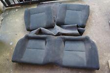 JDM Honda Civic EK9 CTR Type R rear black OEM seats b16b 97-00' EK hatch so3 ek4