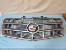 OEM NEW Front Upper Grille Silver w//Chrome /& Emblem 08-11 Cadillac CTS 25896043
