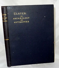 1928 ULSTER ARCHAEOLOGY ANTIQUITIES NORTHERN IRELAND CASTLES Celts Monea Photos