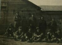 Antique (c.1910) Coal Miners Portrait Industry RPPC Real Photo Postcard