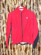"CASTELLI  Wind Stopper Full Zip Long Sleeve Cycling Jersey ~ Medium (34"" Chest)"