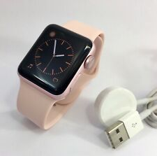 Apple Watch Series 2 - 38mm ROSE GOLD (Unlocked) Pink Band - Excellent Condition