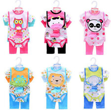 AUS NEW BORN BABY ROMPER SETS, 0 - 1 YEARS OLD, BOYS & GIRLS, ADORABLE.