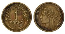 AFRIQUE OCCIDENTALE FRANCAISE - FRENCH WEST AFRICA 1 Franc 1944