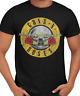 Guns N' Roses Distressed Logo Punk Rock Alternative Band T-Shirt