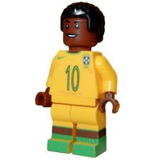 **NEW** LEGO Custom Printed PELÉ #10 Brazil Soccer / Football Star Minifigure