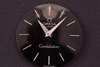 OMEGA Ω Dial Constellation Quartz Swiss Made 27mm Genuine Black Vintage Swiss