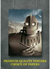 The Iron Giant Classic Movie Large Poster Art Print A0 A1 A2 A3 A4 Maxi