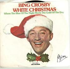 Bing Crosby: White Christmas / Where The Blue The Night Meets Of, 7 in PR Single