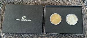 Johnny Bench Silver Coin & Bronze Coin Lot/ #4041 Limited Edition Cincinnati Red