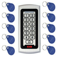 IP68 EM ID Luminous Keypad Door Access Control Waterproof System+10pcs RFID Card