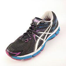 ASICS GT-2000 Gel Womens Solyte Black Athletic Fitness Running Shoe Size 7D / 38