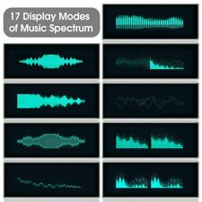 N128 Music Spectrum Display Analog Vu Meter Vfd Clock Sound Level Indicator Ot16