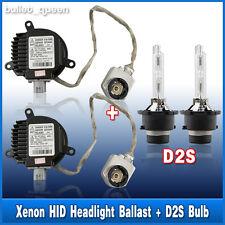2x D2S 6000K Bulbs + Matsushita Nissan Infiniti Xenon Headlight Ballast Igniter