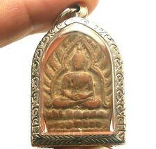 LP JUER JAOSUA MILLIONAIRE BUDDHA THAI REAL AMULET LUCKY RICH SUCCESS HAPPY LIFE