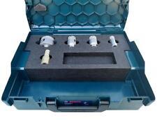 Broca de Corona de Diamante Set En Bosch L-BOXX 136 Para Azulejos Granito Gres