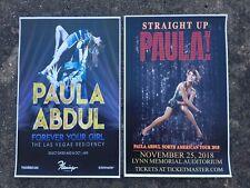 Paula Abdul 11x17 promo tour concert poster vegas shirt cd tickets