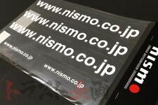 660191075 NISMO URL Cut Out Decal Sticker Set White JDM