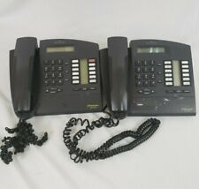 Lot of 2 Alcatel 4020 Premium Reflex Phone Handset Graphite Office