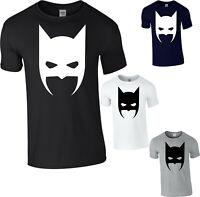 Batman Logo T-Shirt SuperHero DC Comics Batman Joker Gift Animated Series Top