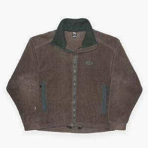 Lowe Alpine Brown Regular Fleece Fleece Jacket Mens L