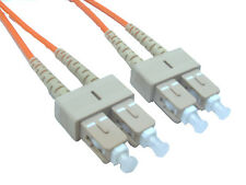 LWL Patchkabel FIBER OPTIC Fibra Ottica/ Óptica SC-SC Multimode 50/125µ 10m Neu