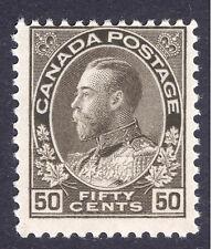 Canada 1911 50c Sepia, SG 215, Scott 120, UMM/MNH Cat. £50++($79++)