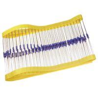 100 Widerstand 90,9KOhm MF0207 Metallfilm resistors 90,9K 0,6W TK50 1% 033083