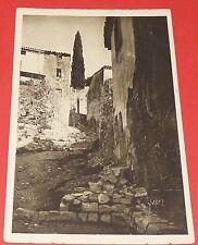 CPA CARTE POSTALE 1910-1920 HYERES VAR COTE D'AZUR VIEILLE RUE VIEILLES MAISONS