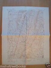 Hancock Mass Lanesborough Ma Stephentown Berlin 1948 Vintage Topographical Map