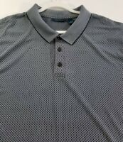 Perry Ellis Men's Short Sleeve Polo Shirt 2X Multicolor Chains Casual Polyester