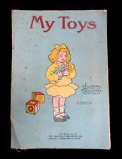 My Toys, Saalfield Linen Book, 1913