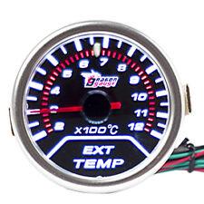 "2"" 52mm LED KFZ Universal Abgastemperaturanzeige EGT Abgas Temp Instrument HY"