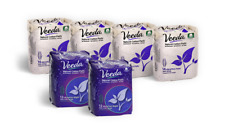 Veeda Ultra Thin Regular and Night Natural Cotton Pads with Wings, Multipack