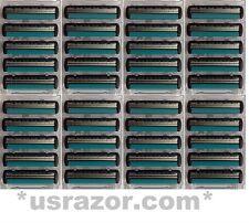40 Cuchillas De Afeitar Schick FX diamante ajuste trazador de los cartuchos  deportivos recargas de máquina de afeitar dc712b4274bd