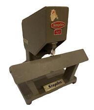 Vintage Staplex Ss 45 H Electric Heavy Duty Commercial Stapler Saddleflat