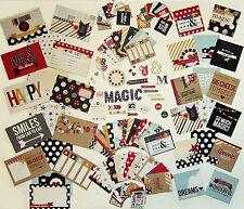 SIMPLE STORIES  [SAY CHEESE]  Snap Pack  *Disney*  131 Cards & Dies - Save 30%