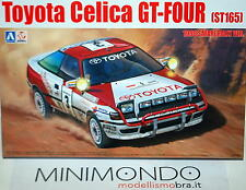 KIT TOYOTA CELICA ST165 1990 SAFARI RALLY WINNER 1/24 AOSHIMA 24006 87885 BEEMAX