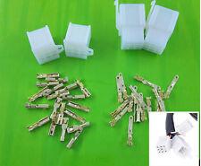 2pairs 9Way 2.8mm Mini Connector Kit For Honda Motorcycle Pin Car Terminal Blade