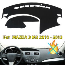 FOR 2010-2013 MAZDA 3 DASH SUN COVER MAT INNER CAR DASHBOARD DashMat PAD / BLACK