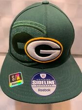 Green Bay PACKERS Football Reebok Hat Fitted Size S/M