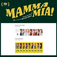 SF9 - 4TH MINI ALBUM MAMMA MIA! SPECIAL EDITION SELFIE TICKET CARD&FILM BOOKMARK