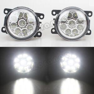 2x Full LED Fog Light Lamp For Land Rover Range Rover Sport 2010-2013 LR001587