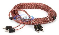 Stinger SI4217 17 ft. of 2-Channel 4000 Series RCA Audio Interconnect Cable