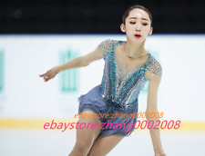 Ice skating dress/Sparkles Figure Skating Dress/Dance Twirling Tap Costume