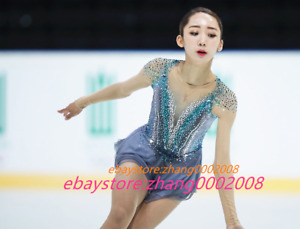 Ice skating dress/Sparkles Figure Skating Dress/Dance Twirling Tap Costume