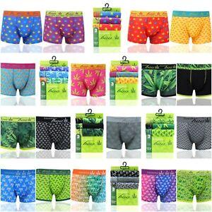 3-6-12 Pack Pieces Men's Underwear Trunks Cotton Rich Boxer Shorts Soft S M L XL